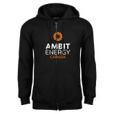 Black Fleece Full Zip Hoodie-Ambit Energy Canada