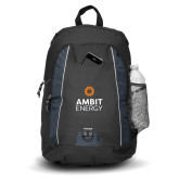 Impulse Black Backpack-Ambit Energy