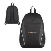 Atlas Black Computer Backpack-Ambit Energy Japan