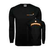 Black Long Sleeve TShirt-My Friends Pay My Energy Bill