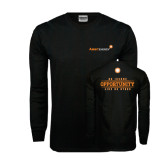 Black Long Sleeve TShirt-An Income Opportunity