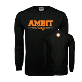 Black Long Sleeve TShirt-Collegiate Ambit Energy