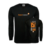 Black Long Sleeve TShirt-I Have 15 Friends & Now I Have Free Energy