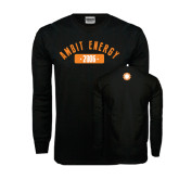 Black Long Sleeve TShirt-Ambit Energy 2006