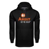Under Armour Black Performance Sweats Team Hood-