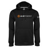 Under Armour Black Performance Sweats Team Hoodie-Ambit Energy