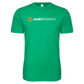 Next Level SoftStyle Kelly Green T Shirt-Ambit Energy