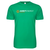 Next Level SoftStyle Kelly Green T Shirt-Ambit Energy Japan