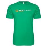 Next Level SoftStyle Kelly Green T Shirt-Ambit Energy Japan