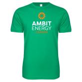 Next Level SoftStyle Kelly Green T Shirt-Ambit Energy Canada