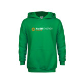 Youth Kelly Green Fleece Hoodie-Ambit Energy Japan
