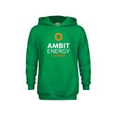 Youth Kelly Green Fleece Hoodie-Ambit Energy Canada