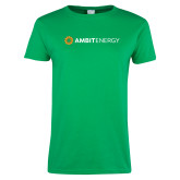 Ladies Kelly Green T Shirt-Ambit Energy