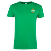 Ladies Kelly Green T Shirt-Ambit Energy Canada