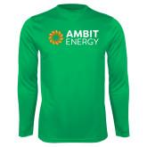Syntrel Performance Kelly Green Longsleeve Shirt-Ambit Energy