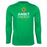 Performance Kelly Green Longsleeve Shirt-Ambit Energy Canada
