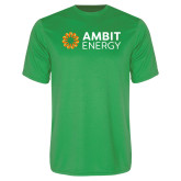 Performance Kelly Green Tee-Ambit Energy