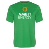 Performance Kelly Green Tee-Ambit Energy