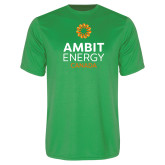 Performance Kelly Green Tee-Ambit Energy Canada