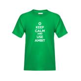 Youth Kelly Green T Shirt-
