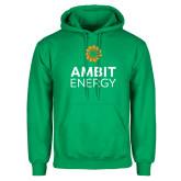 Kelly Green Fleece Hoodie-Ambit Energy