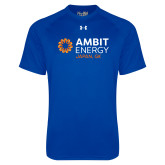 Under Armour Royal Tech Tee-Ambit Energy Japan