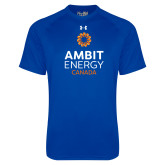 Under Armour Royal Tech Tee-Ambit Energy Canada