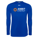 Under Armour Royal Long Sleeve Tech Tee-Ambit Energy