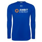 Under Armour Royal Long Sleeve Tech Tee-Ambit Energy