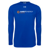 Under Armour Royal Long Sleeve Tech Tee-Ambit Energy Japan
