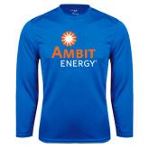 Syntrel Performance Royal Longsleeve Shirt-