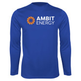 Performance Royal Longsleeve Shirt-Ambit Energy