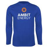 Syntrel Performance Royal Longsleeve Shirt-Ambit Energy