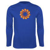 Syntrel Performance Royal Longsleeve Shirt-Spark