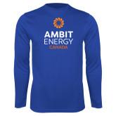 Performance Royal Longsleeve Shirt-Ambit Energy Canada