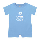 Light Blue Infant Romper-Ambit Energy Canada