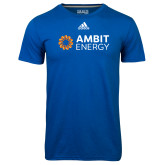 Adidas Climalite Royal Ultimate Performance Tee-Ambit Energy