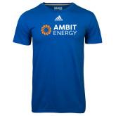 Adidas Climalite Royal Ultimate Performance Tee-Ambit Energy