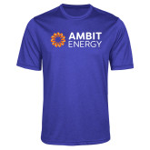 Performance Royal Heather Contender Tee-Ambit Energy