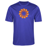 Performance Royal Heather Contender Tee-Spark