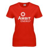 Ladies Red T Shirt-