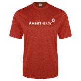 Performance Red Heather Contender Tee-