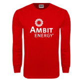Red Long Sleeve TShirt-
