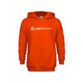 Youth Orange Fleece Hoodie-Ambit Energy