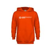Youth Orange Fleece Hoodie-Ambit Energy Japan