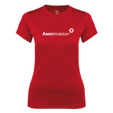 Ladies Syntrel Performance Red Tee-