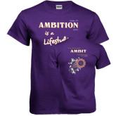 Purple T Shirt-Team 526 Breakthrough Shirt
