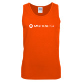 Orange Tank Top-Ambit Energy