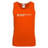Orange Tank Top-Ambit Energy Japan
