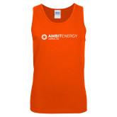 Orange Tank Top-Ambit Energy Japan